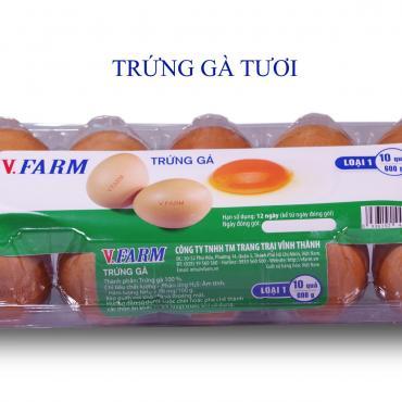 Trứng Gà VFARM (Hộp 10)